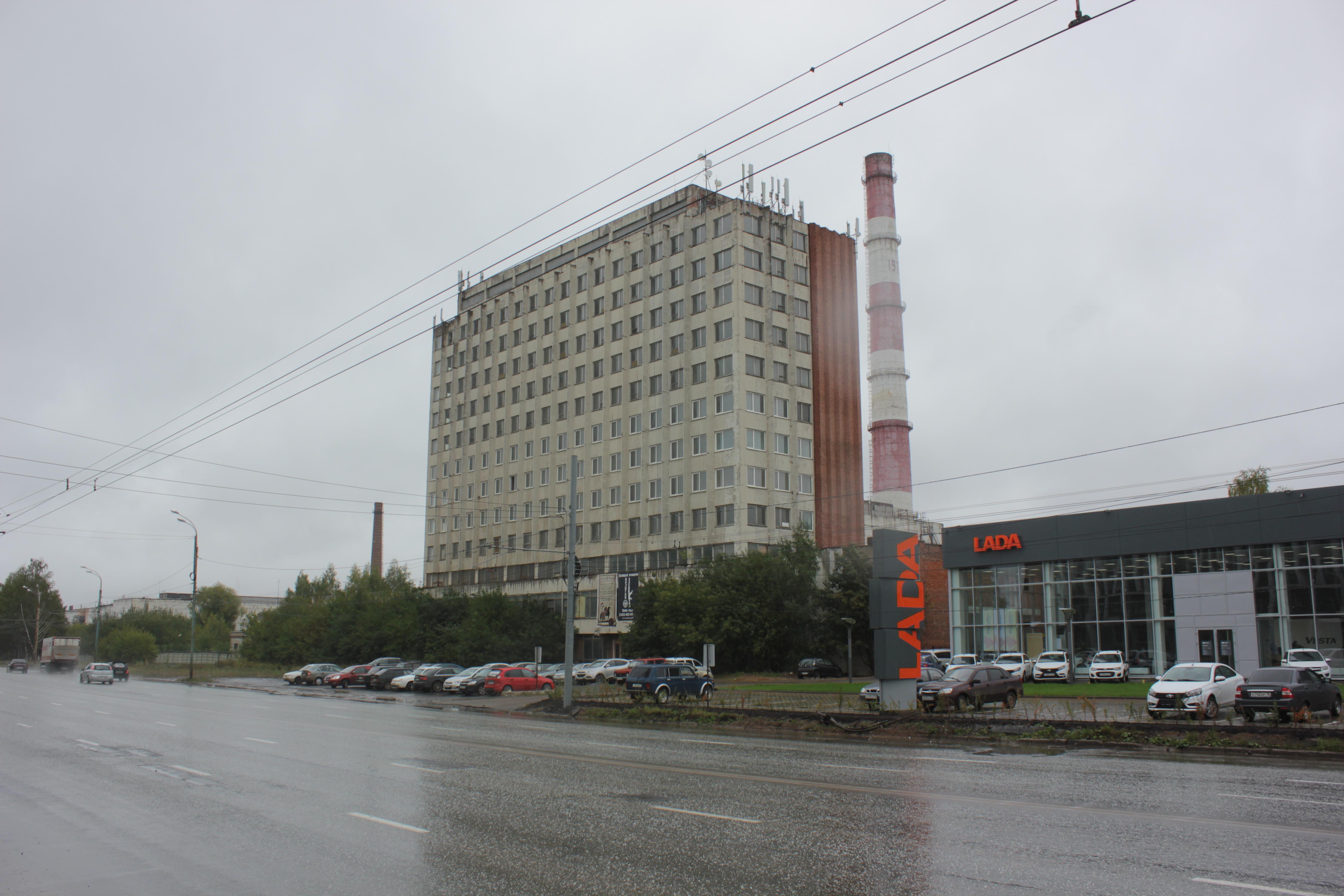 О торгово-офисном центре